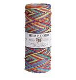 Hemptique Hennep touw - Rainbow 20lb