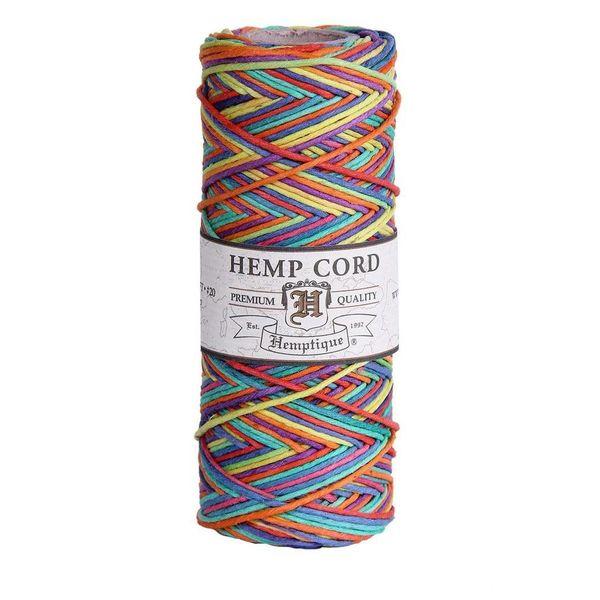 Hennep touw - Rainbow 20lb