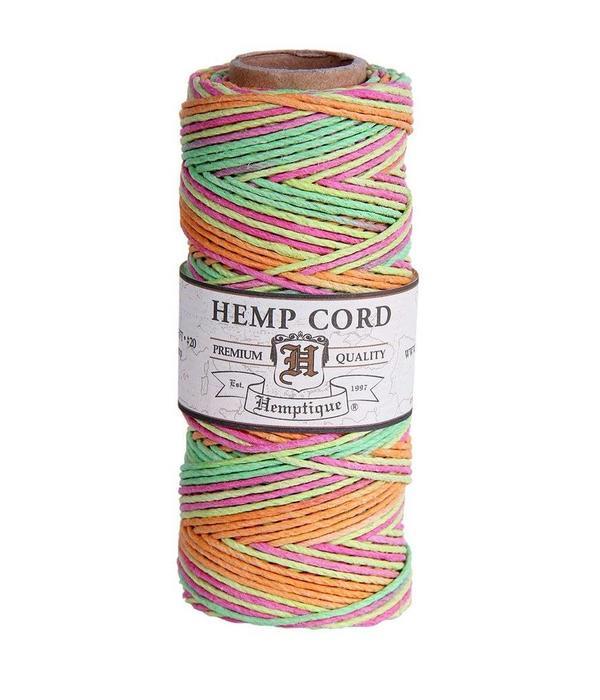 Hemptique Hennep Touw - Neon #10