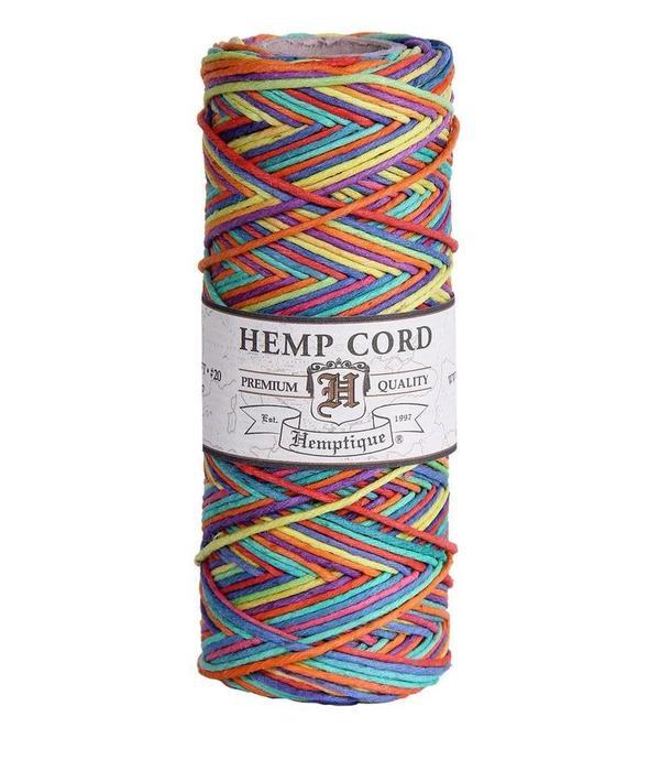 Hemptique Hennep touw - Rainbow #10