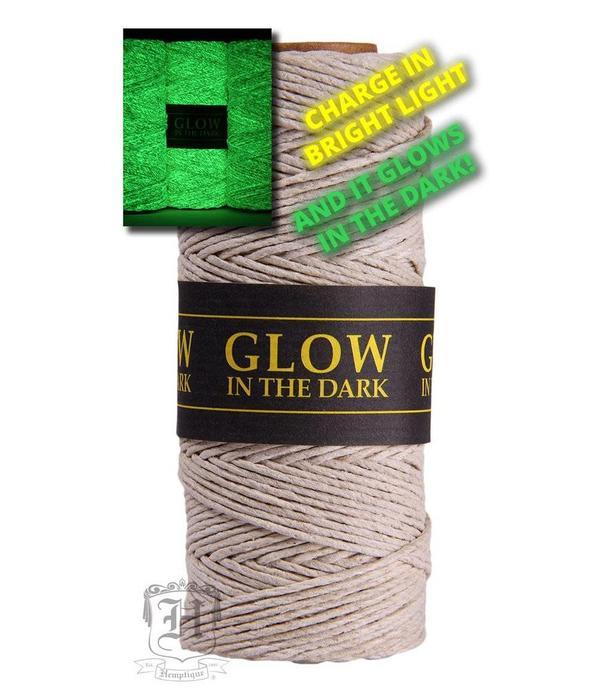 Hemptique Hennep Touw - Glow in the dark #20
