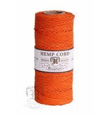 Hemptique Hennep Touw - Orange - #20