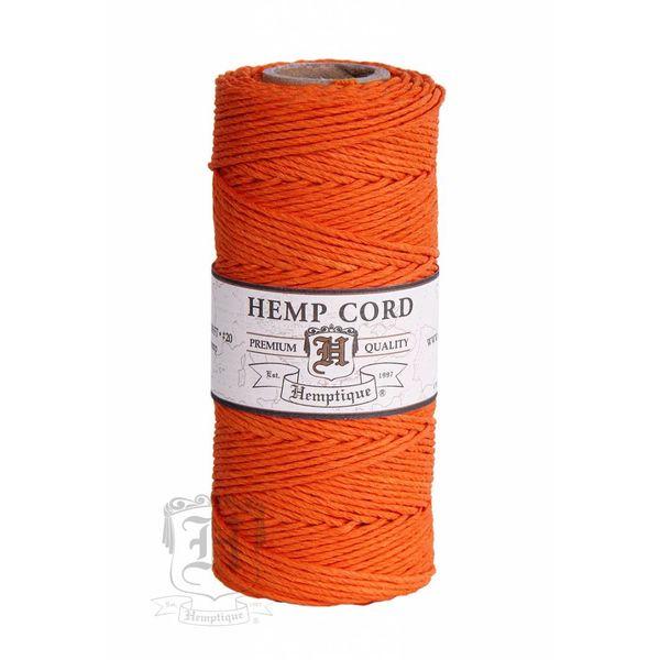 Hennep Touw - orange - #20