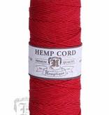 Hemptique Hennep Touw - Red  - #10