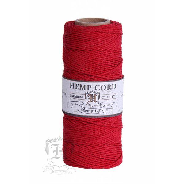 Hennep Touw - Red - #10