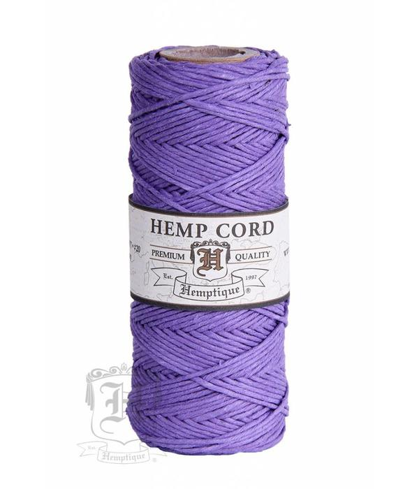Hemptique Hennep Touw - lavender - #20