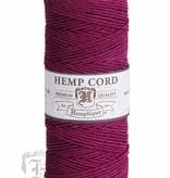 Hemptique Hennep Touw - dark pink - #20