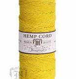 Hemptique Hennep Touw -  yellow- #20