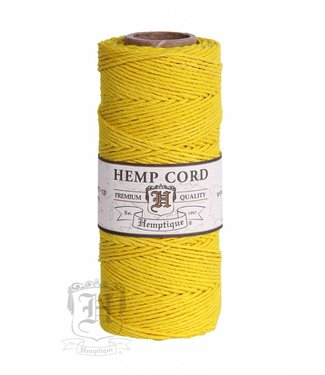 Hemptique Hennep Touw - yellow - #10