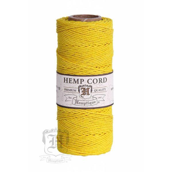 Hennep Touw - yellow - #10