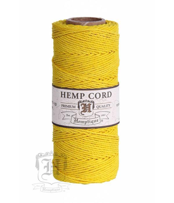 Hemptique Hennep Touw - yellow - #10  - Copy