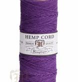 Hemptique Hennep Touw - dark purple - #10