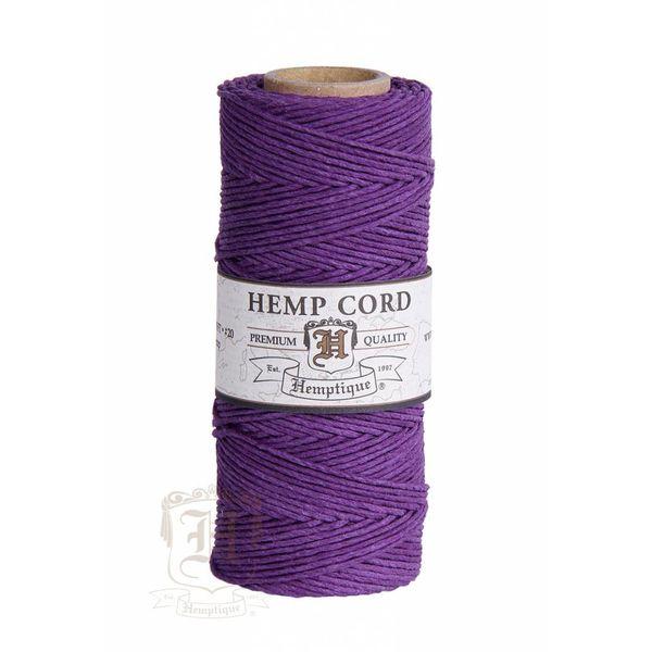 Hennep Touw - dark purple - #10