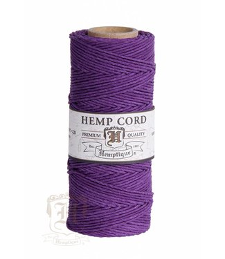 Hemptique Hennep Touw - dark purple - #20