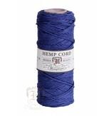 Hemptique Hennep Touw - navy blue - #10