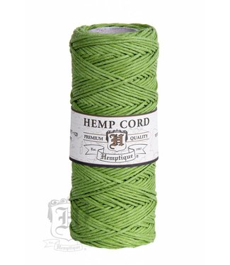 Hemptique Hennep Touw -lime green - #10