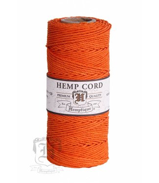 Hemptique Hennep Touw - orange - #10