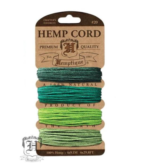 Hemptique Kaart - Shades of Emerald #20