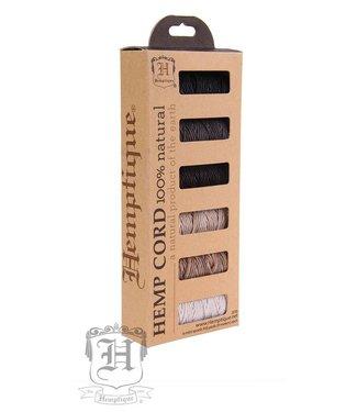 Hemptique Box - Hennep Touw - Polished Sand