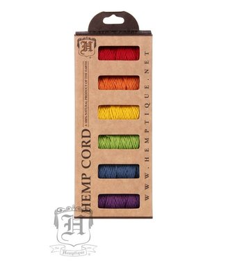 Hemptique Box - Hennep Touw - Rainbow Fields