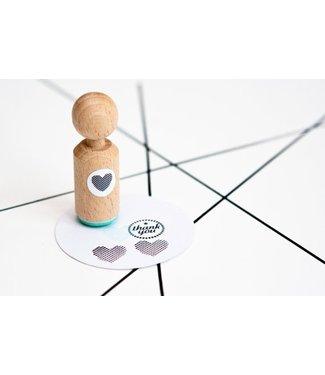 Miss Honeybird Ministempel - hart