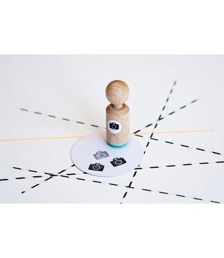 Miss Honeybird Ministempel - fototoestel