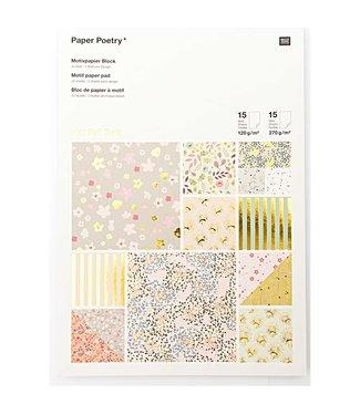 Papierblok - Bouguet Sauvag