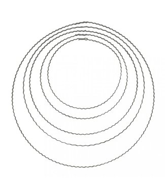 Golvende ring - 18 cm