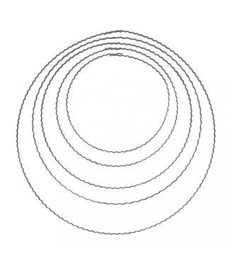 Golvende ring - 25 cm