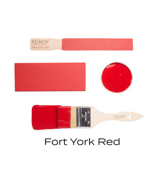 Fusion Mineral Paint- Fork York Red