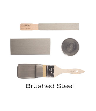 Fusion Mineral Paint- Brushed Steel