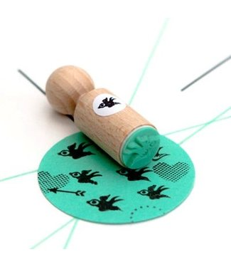 Miss Honeybird Ministempel -Bird