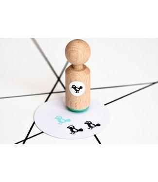 Miss Honeybird Ministempel -Little Bird