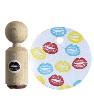 Miss Honeybird Ministempel  - Mond
