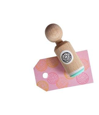 Miss Honeybird Ministempel  - Donut