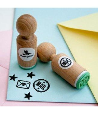 Miss Honeybird Ministempel  - Mail