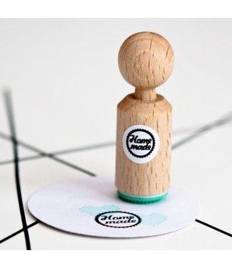 Miss Honeybird Ministempel  - Homemade