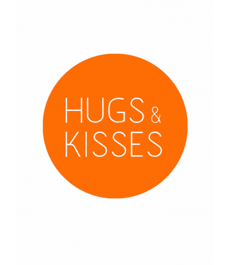 Sticker - Hugs and Kisses