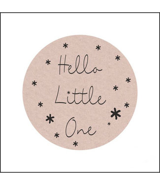 Sticker - Hello little One