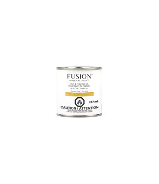 Fusion Mineral Paint- Stain and finishing Oil - Golden Pine