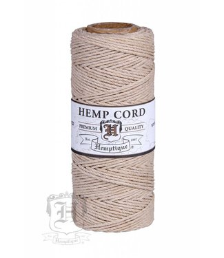 Hemptique Hennep Touw - Natural - #10