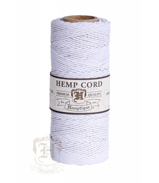 Hemptique Hennep Touw - Wit - 20lb