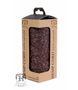 Hemptique Hennep Touw - Chocolate Glow