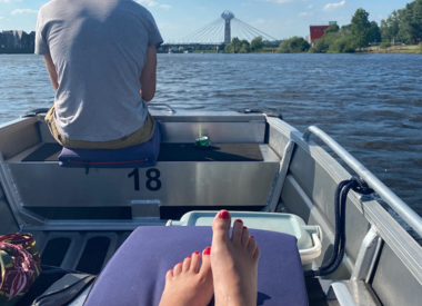 Fluisterboot 4 pers. zonder schipper
