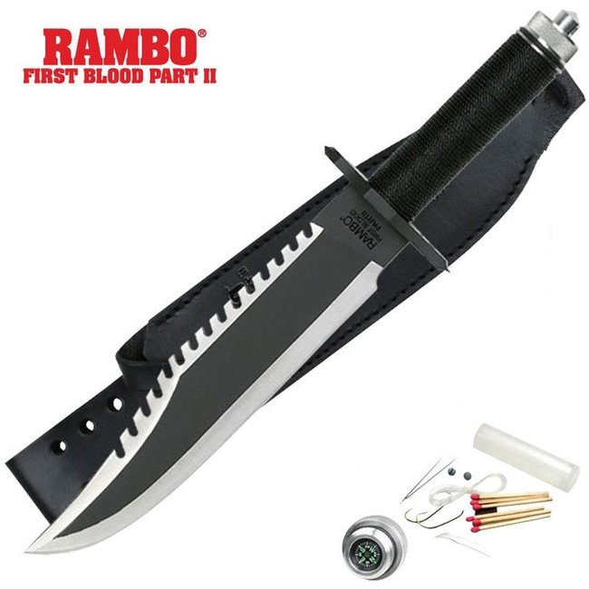 Rambo First Blood II survival mes