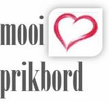 Prikbord of schoolbord van gebruikt steigerhout : Mooi Prikbord