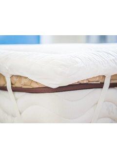 Nightlife Blue Verkoelende matrasbeschermende Luxe Katoenen Hotel Topper