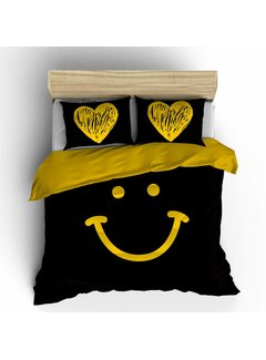 Nightlife Concept Dekbedovertrek Happy Smiley