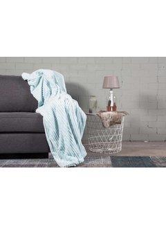 Nightlife Home Woondeken Flanel Rib Mint 150x200