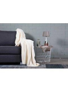 Nightlife Home Woondeken Flanel Fleece Ecru